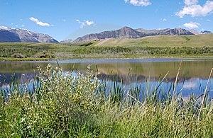 Mountains And Lake Stock Photography - Image: 5821422