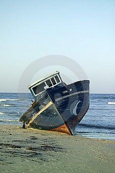 Neglected Fishing Boat Stock Photo - Image: 5822320