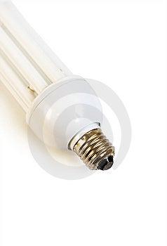 White Bulb Isolated On White Royalty Free Stock Photography - Image: 5822697