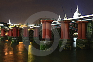 Bridge Pillars Stock Photos - Image: 5825393