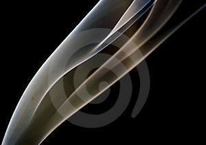 Smoke curves Royalty Free Stock Photography