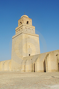 Mosque In Kairouan Stock Photography - Image: 5827772