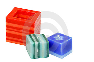 Three Candles Royalty Free Stock Image - Image: 5829296
