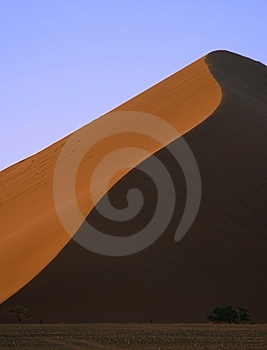 Dunes Of Sossusvlei Royalty Free Stock Images - Image: 5829349