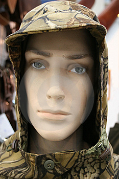 Head Of Mannequin In Masking, Disguise Hood Stock Photos - Image: 5831183