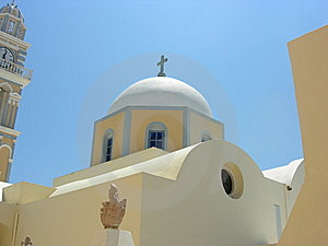 Religious Mediterranean Dome Stock Photos - Image: 5832543