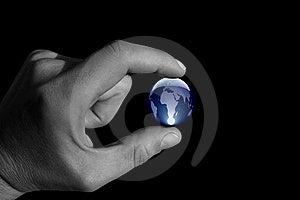 Holding The Globe Stock Images - Image: 5834854
