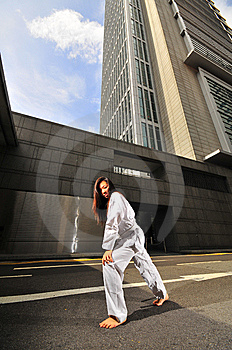 Corporate Karate 2 Royalty Free Stock Photo - Image: 5835615