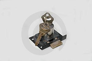 Lock With Keys Stock Photography - Image: 5836412