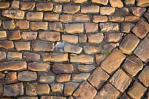 Prague Old Road Royalty Free Stock Photo - Image: 5837565