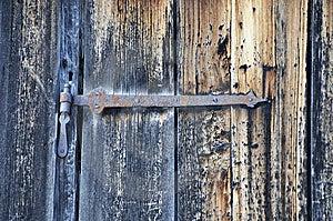 Rusted Hinge Stock Photo - Image: 5838420