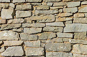 Old Stone Wall Background Royalty Free Stock Photography - Image: 5839697