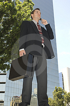 Aspiring Businessman Royalty Free Stock Images - Image: 5840359
