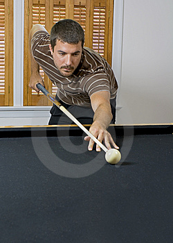 Game Of Pool Stock Photography - Image: 5840902