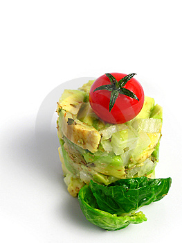 Guacamole Tower Stock Photo - Image: 5842670