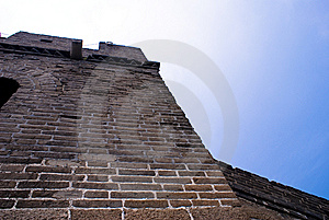 Great Wall Royalty Free Stock Photos - Image: 5843318
