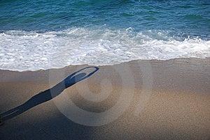 Unmännlicher Schatten Lizenzfreie Stockbilder - Bild: 5843919