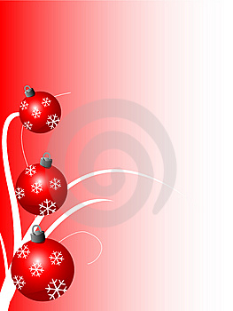 Red Christmas Background Royalty Free Stock Image - Image: 5845316