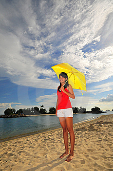 Fun At The Beach 26 Royalty Free Stock Photo - Image: 5845385