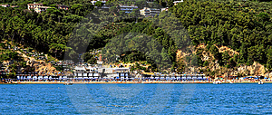 Lerici And Baia Blu Royalty Free Stock Photography - Image: 5846577