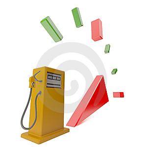 Fuel Out Royalty Free Stock Photography - Image: 5846667