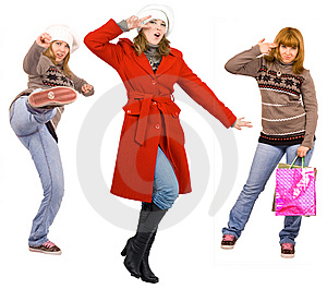 Cool Funky Action Royalty Free Stock Images - Image: 5846789