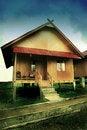 Pagaralam House Royalty Free Stock Photography