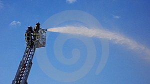 Fire Fighter Stock Photography - Image: 5850952
