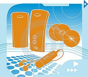 Music Technology Royalty Free Stock Photos - Image: 5853998