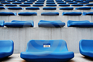 Stadium Seating Stock Photo - Image: 5858190