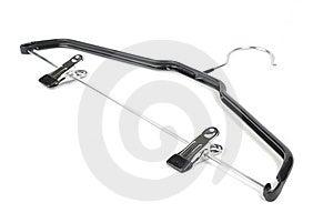 Black Hanger Stock Image - Image: 5858941