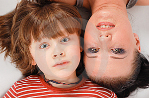 Mother And Son Royalty Free Stock Image - Image: 5859746