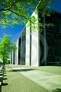 Modern Corporate Building Stock Image - Image: 5860541