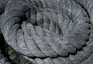 Thick Rope Royalty Free Stock Photography - Image: 5866537