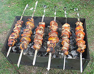 Shish Kebab Royalty Free Stock Image - Image: 5870556