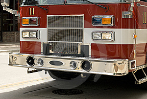 A Fire Truck Royalty Free Stock Images - Image: 5870939