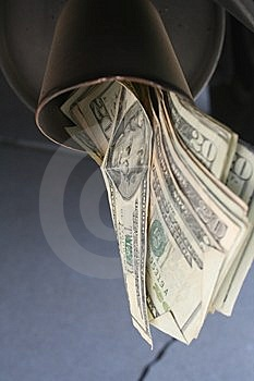 Exhausted Funds Stock Photo - Image: 5871840