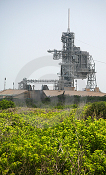 Kennedy Space Center Launch Complex 39 Stock Images - Image: 5876094