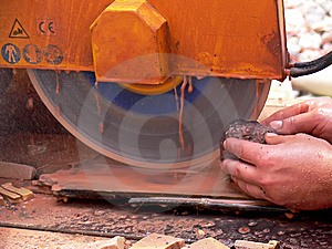 The Circular Saw Stock Images - Image: 5883754