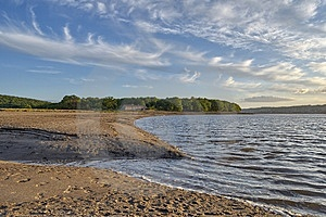 Bay At Arnside Royalty Free Stock Photography - Image: 5883777