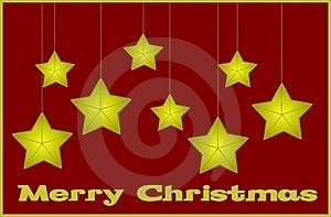 Merry Christmas Card Royalty Free Stock Photos - Image: 5883808