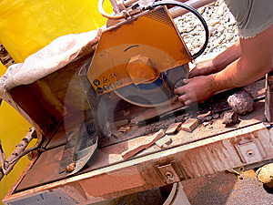The Circular Saw Royalty Free Stock Photo - Image: 5883815
