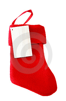 Christmas Stocking Royalty Free Stock Photos - Image: 5884038