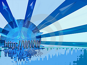 Header Internet In All Directions Stock Images - Image: 5884934