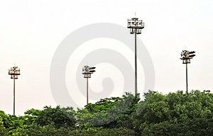 Lichtmaste Stockbilder - Bild: 5889704