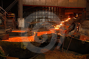 Industrial Metallurgy Royalty Free Stock Image - Image: 5890336