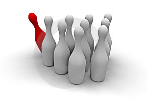 Bowling Royalty Free Stock Photography - Image: 5890647
