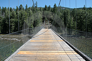 Lost River Bridge Royalty Free Stock Image - Image: 5897916