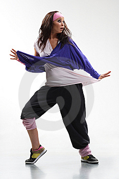 The dancer Free Stock Images
