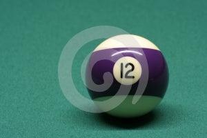 Palla Di Stagno Numero 12 Immagine Stock - Immagine: 596541
